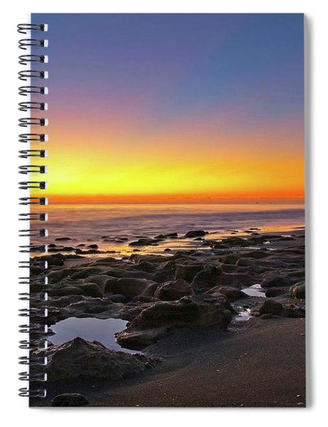 Coral Cove Nautical Twilight Spiral Notebook