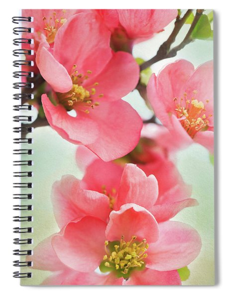 Coral Quince Spiral Notebook