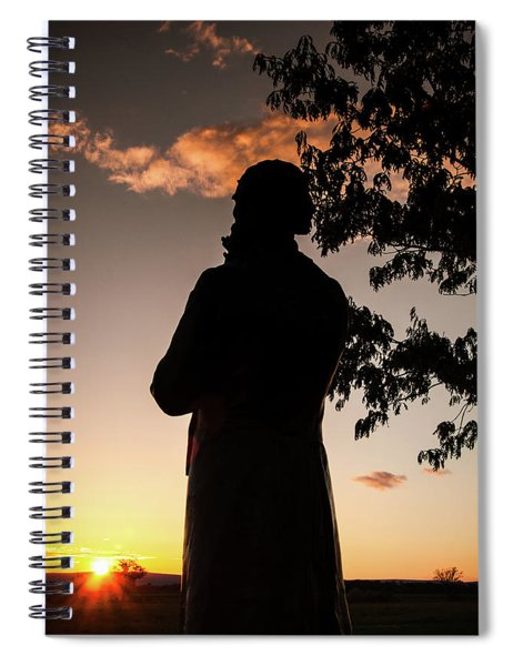 Corby At Sunset Spiral Notebook