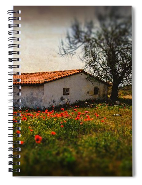 Corn Poppies Spiral Notebook