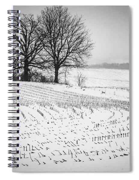 Corn Snow Spiral Notebook