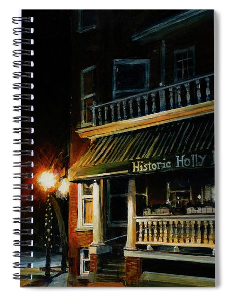 Corner Light Spiral Notebook