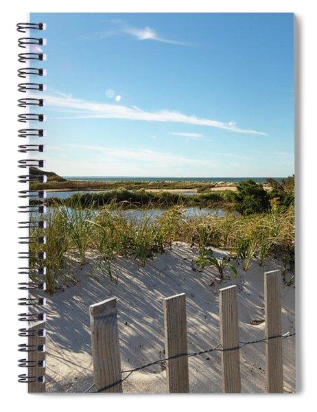 Corporation Beach Cape Cod Spiral Notebook