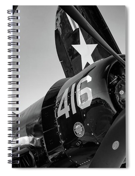 Corsair Under The Setting Sun Spiral Notebook