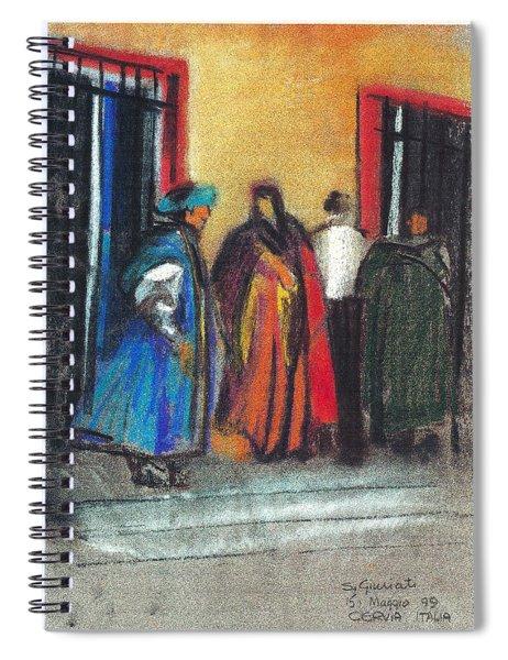 Corteo Medievale Spiral Notebook