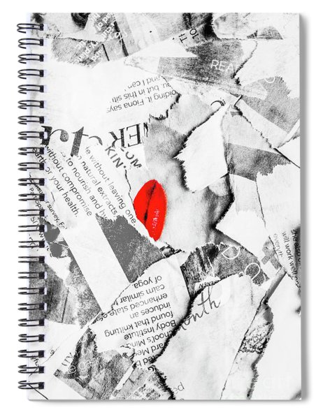 Cosmetic Collage Spiral Notebook