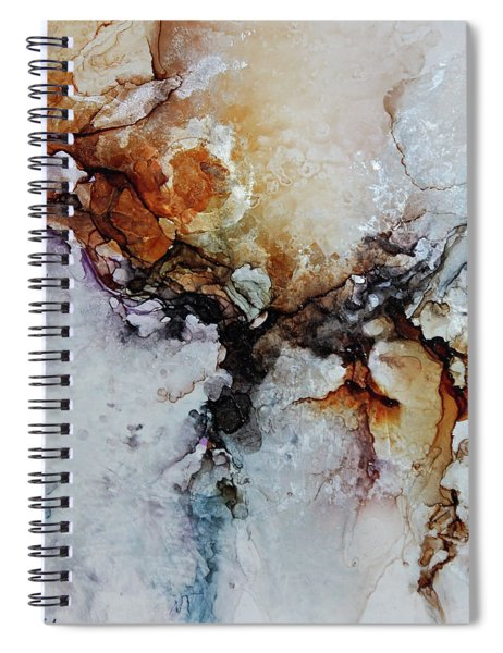 Cosmic Blast Spiral Notebook