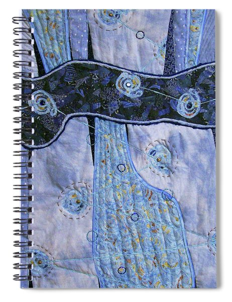 Cosmic Connectivity Spiral Notebook