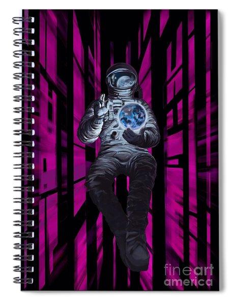 Cosmonault Spiral Notebook