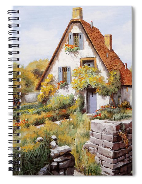 Cottage Spiral Notebook
