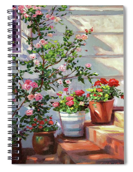 Cottage Steps Spiral Notebook