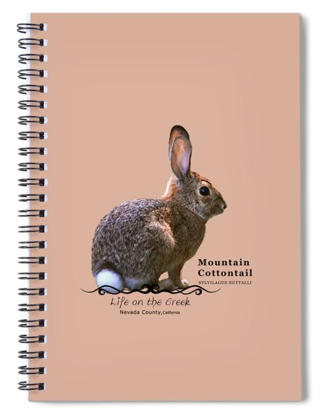 Cottontail Rabbit Spiral Notebook