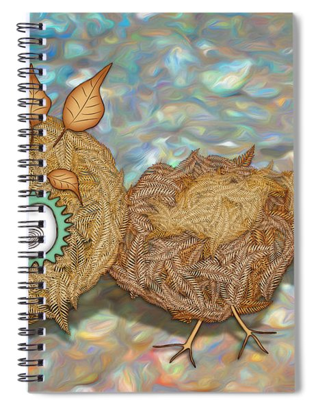 Count Your Chicken Spiral Notebook