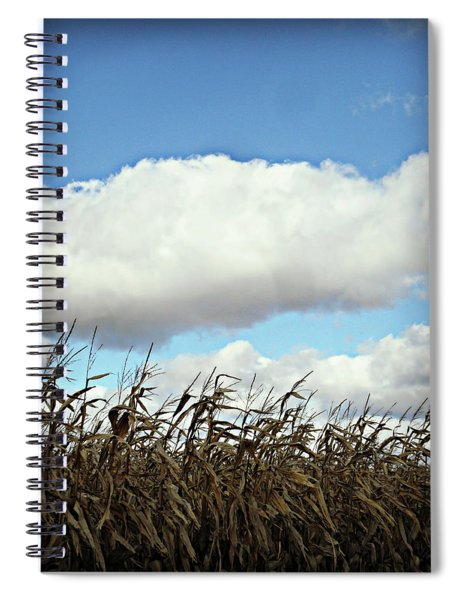 Country Autumn Cuves 5 Spiral Notebook