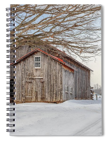 Country Brown Spiral Notebook