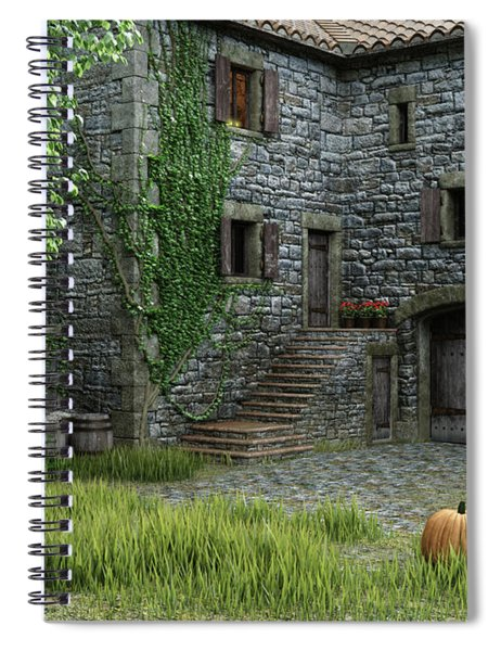 Country Farmhouse Spiral Notebook