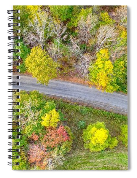 Country Path Spiral Notebook