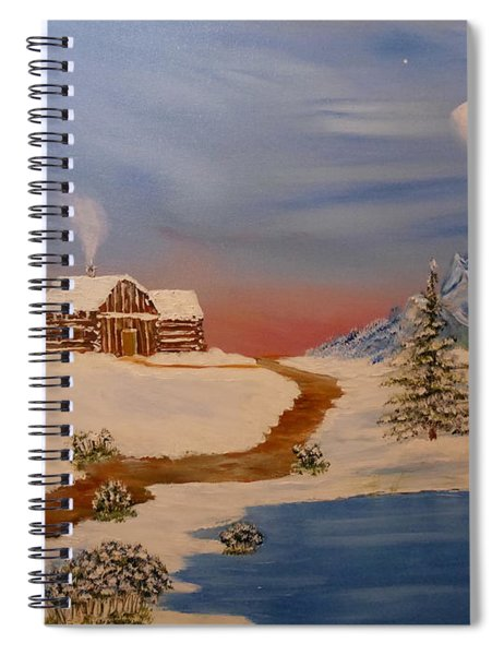 Country Retreat Spiral Notebook