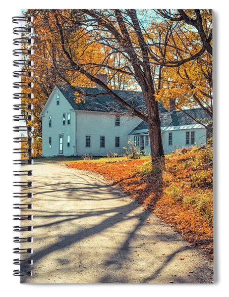 Country Road Henniker New Hampshire Spiral Notebook