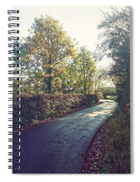 Country Roads Spiral Notebook