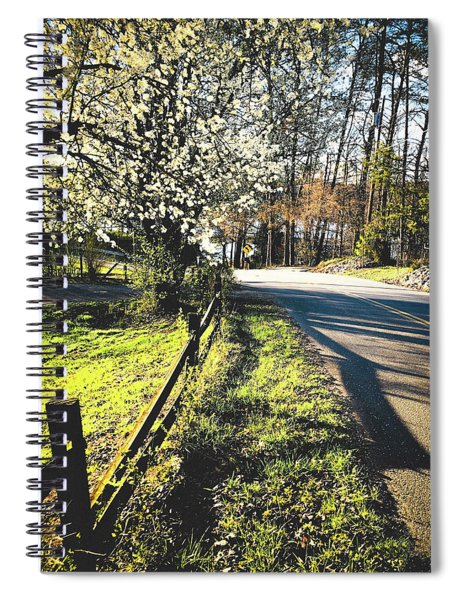Country Roads Take Me Home Spiral Notebook