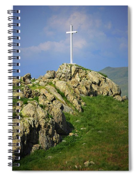 Countryside Cross Spiral Notebook