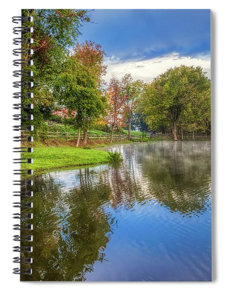 Countryside Drive Spiral Notebook