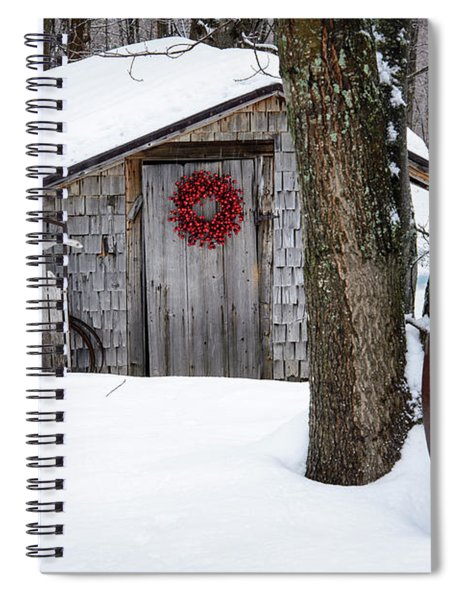 County Christmas Spiral Notebook