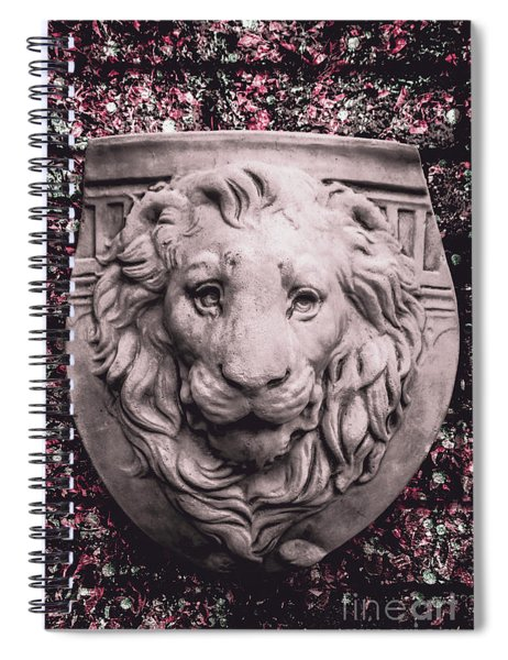 Courage Crest Spiral Notebook
