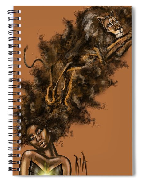 Courageous Me Spiral Notebook