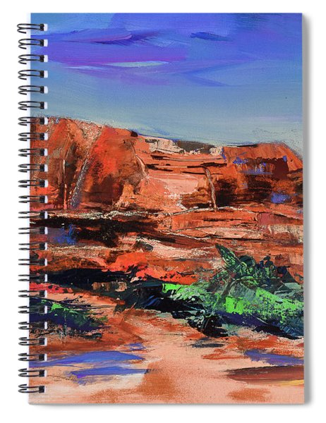 Courthouse Butte Rock - Sedona Spiral Notebook