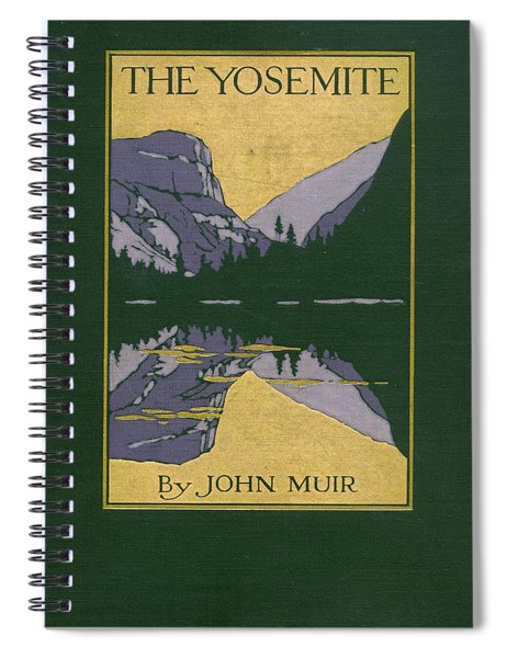 Cover Design For The Yosemite Spiral Notebook