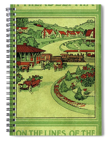Cover Of Thirty Miles Around Philadelphia Spiral Notebook