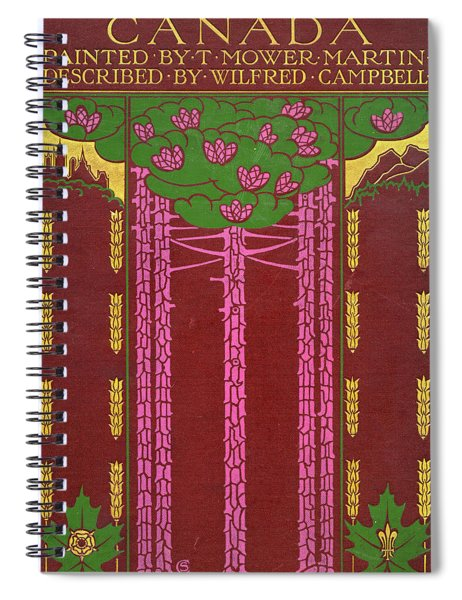 Cover Design For Canada Spiral Notebook