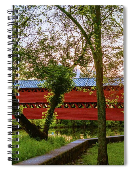 Covered Through Tree Spiral Notebook