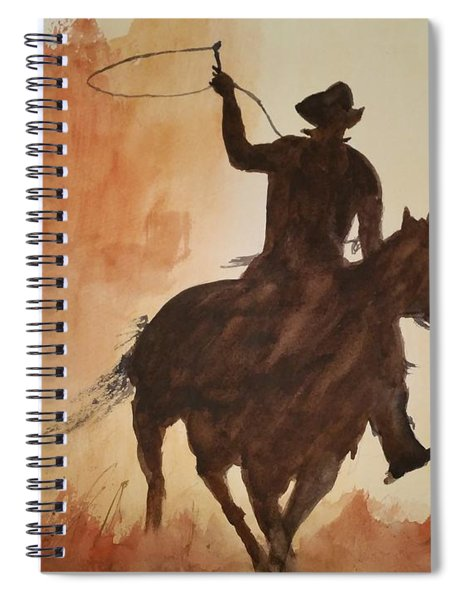 Cowboy Hero Spiral Notebook