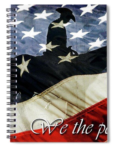 Cowboy Patriot Spiral Notebook