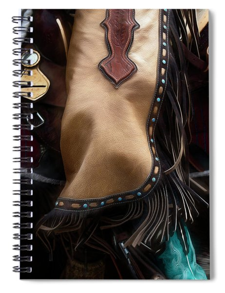 Cowgirl Swing Spiral Notebook