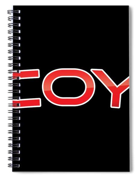 Coy Spiral Notebook