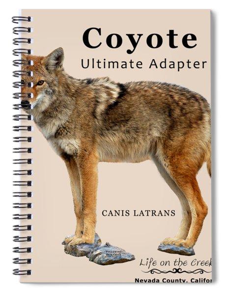 Coyote Ultimate Adaptor Spiral Notebook
