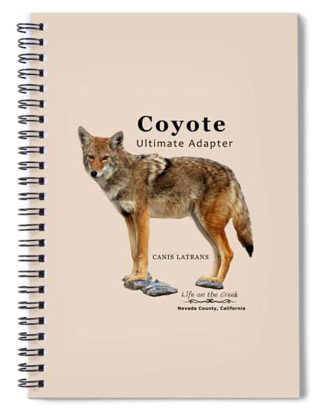 Coyote Ultimate Adaptor Spiral Notebook