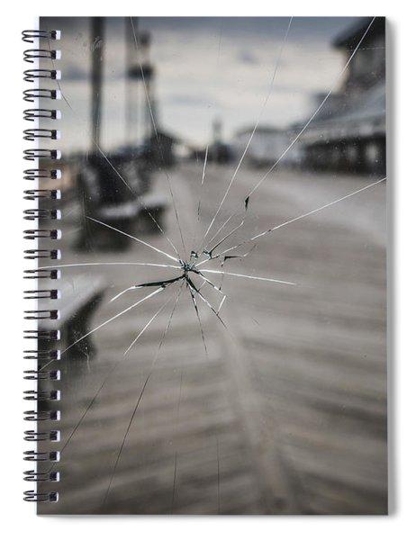 Crack Spiral Notebook