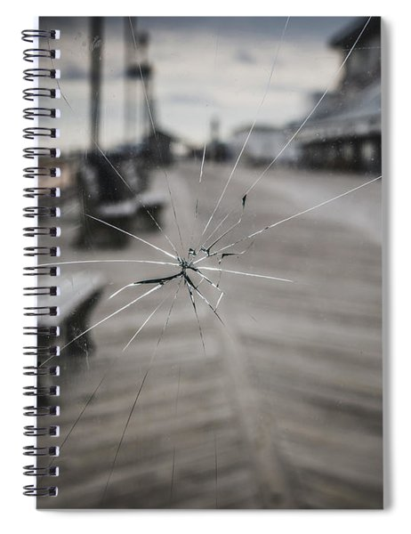 Crack Spiral Notebook