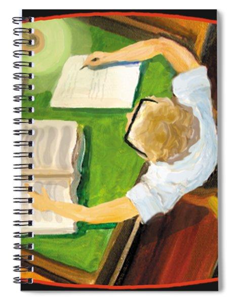 Crack'n The Books Spiral Notebook