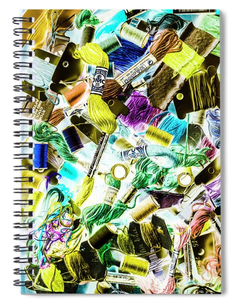 Crafted In Retro Spiral Notebook