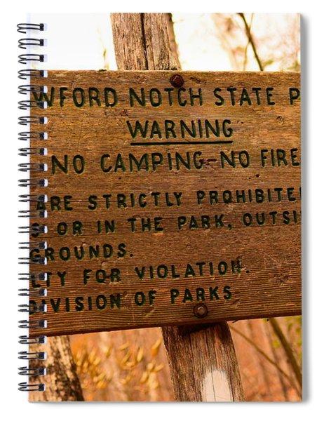 Crawford Notch Spiral Notebook