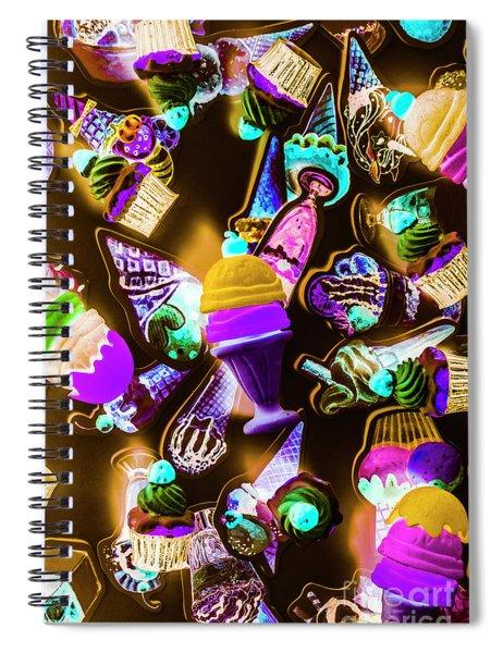 Creamery Creativity Spiral Notebook