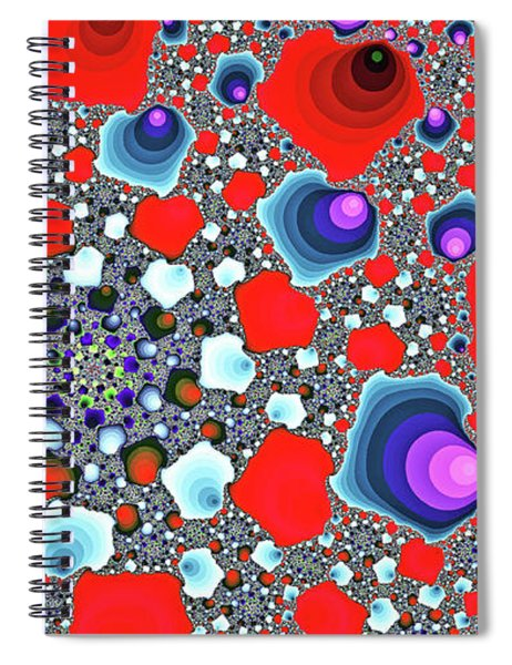 Creative Spiral Abstract Art Spiral Notebook