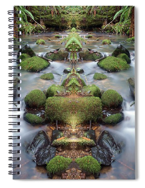 Creek Diamonds #1n Spiral Notebook