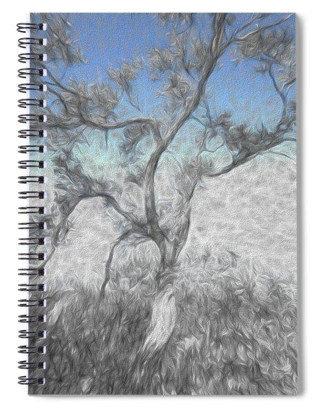 Creeping Up Spiral Notebook